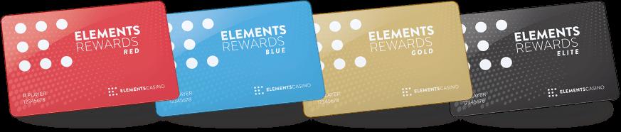 Elements Rewards Cards